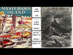 Jules VERNE - L'île mystérieuse -1, Livre audio - YouTube