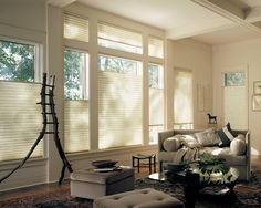 """Most of us have at least one window that would benefit from the """"top-down-bottom-up"""" feature of these shades"""