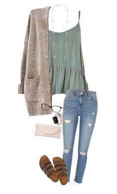 Apr 2020 - A fashion look from November 2017 by shelbycooper featuring Topshop, River Island, Birkenstock, Kate Spade, Kendra Scott and Versace Look Fashion, Autumn Fashion, Fashion Outfits, Paris Fashion, Fashion Clothes, Modern Gypsy Fashion, Girl Fashion, Neon Outfits, Outfits 2016