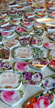 broken china jewelry workshop 5 | Some of the vintage china … | Flickr