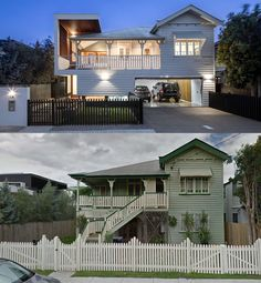 The existing Queensland weatherboard home, quintessential of its New Farm streetscape, was transformed as a renovation and additions project by Vibe Design G...