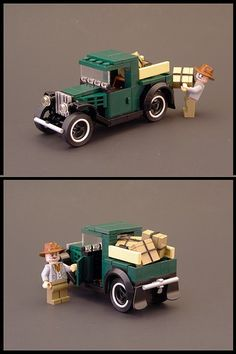 1931 Ford Pickup with instructions | The Brothers Brick | LEGO Blog