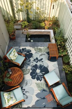 Couristan's Dolce Collection offers amazing style options for outdoor/indoor spaces.