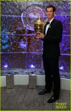Andy Murray at the Wimbledon Winner's Ball Congratulations!!!!!!!