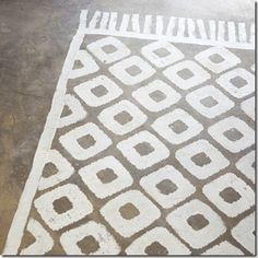 Méchant Design: painted rug -★-