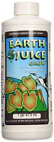 Hydro Organics HOJ03101 1Pint Hydro Organics Earth Juice Grow Plant Supplement * Continue to the product at the image link.