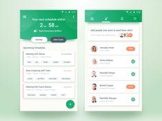 Team Schedule App – User interface by Rifayet Uday