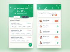Team Schedule App – MaterialUp