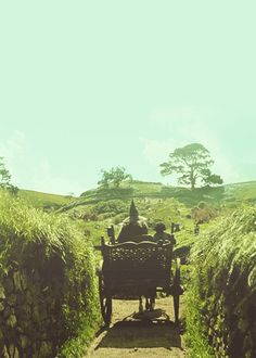 Hobbiton. I always wanted to live in the Shire.