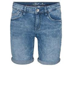 ALEXA - Jeans Shorts - light stone wash denim