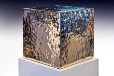 Ripple Cube  High Chromium Stainless Steel / 14 x 14 x 14 inches | 36 x 36 x 36 cm 2014