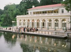 Venue: the Boathouse at Prospect Park, Brooklyn, NY