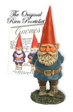 """Legend has it a wise gnome would rather lose his shirt than his cap! """"A gnome without his cap is not a gnome,"""" Wilfred explains."""