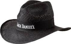 d756fca2bda15 Amazon.com  Jack Daniel s Straw Cowboy Hat Black  Clothing Jack Daniels