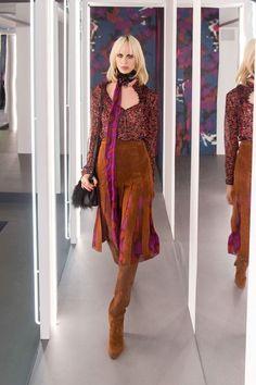 As principais tendências da New York Fashion Week 2016 - NYFW - Semana de Moda de Nova Iorque - 70's -  Diane Von Furtenberg