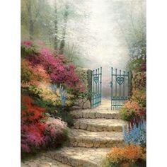 Thomas Kinkade - Garden of Promise