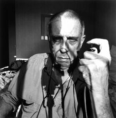"""'Self Portrait' by Lee Friedlander.  Lee, born July 14 in 1934. Friedlander is an American photographer and artist. In the 1960s and 70s, working primarily with 35mm cameras and black and white film, Friedlander evolved an influential and often imitated visual language of urban """"social landscape."""""""