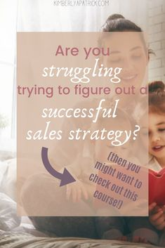 Finding a sales strategy that works can be so discouraging and HARD! You may feel like giving up, but sister, don't! I have helpful tips and tricks for you to take intentional action steps towards your sales goal. Let's get you sales strategy plan figured