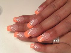 """Obtain terrific ideas on """"gel nail designs for fall colors"""". They are actually on call for you on our website. Pink Nail Art, Acrylic Nail Art, Pink Nails, French Tip Nail Designs, Gel Nail Designs, Nails Design, French Manicure Nails, French Tip Nails, Short Nails Art"""