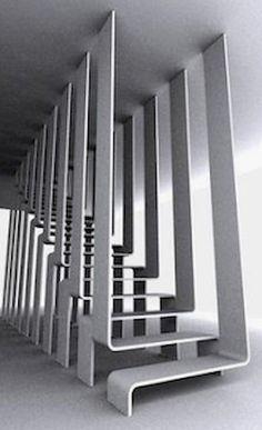 Zening life: 160 - Some original stairs - Some original stairs Stairs And Staircase, House Stairs, Staircase Ideas, Home Stairs Design, Interior Stairs, Stairs Architecture, Interior Architecture, Escalier Design, Stair Decor