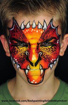 beautiful detailed dragon