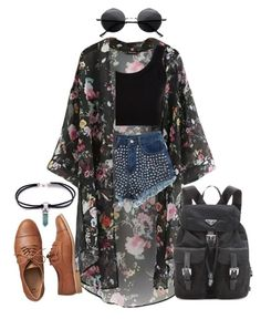 """""""#413"""" by uccelli ❤ liked on Polyvore featuring Chicnova Fashion, Calvin Klein Collection, Gap, Retrò and Prada"""