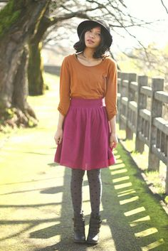 How to Wear Modest Skirts (Without Looking Frumpy) by Kristine at Clothed Much Modest Fashion Blog