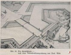 Śluza Kamienna (Steinschleuse), Gdańsk - 1665 rok, stare zdjęcia
