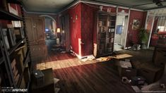 ArtStation - Wrecked Apartment - NDO/DDO Project, Wiktor Öhman