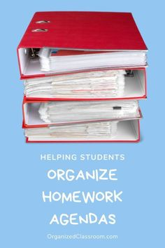 It is important as teachers to take the time to teach our students to use their agendas effectively.  Routines and expectations should be monitored closely. #studentagendas #homework