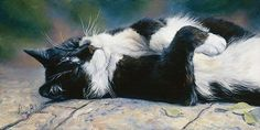 Laid Back by Lucie Bilodeau (b.1967)