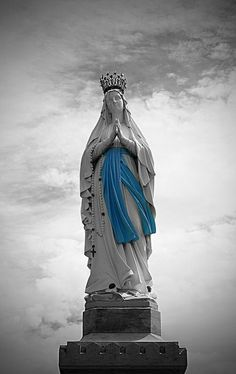 Jungfrau Maria Modell Miniatur Gottesmutter Statue für House Car Office