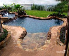 Elegant Small Pool Design Ideas For Backyard. Here are the Small Pool Design Ideas For Backyard. This article about Small Pool Design Ideas For Backyard was posted Backyard Beach, Small Backyard Pools, Small Pools, Outdoor Pool, Backyard Landscaping, Beach Pool, Pool Decks, Backyard Ideas, Landscaping Ideas