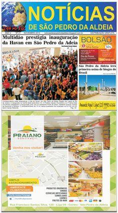 Notícias de São Pedro da Aldeia: JORNAL NOTÍCIAS DE SÃO PEDRO DA ALDEIA EDIÇÃO NOVE...
