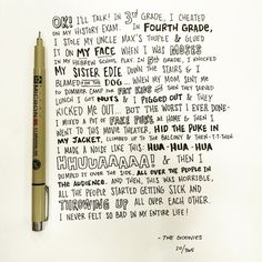 Artist Ian Simmons drew one movie quote for each day of the past year, and they're all amazing.