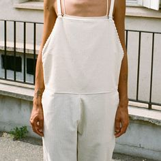 The pared-down, simple styles and tactile fabrics of Danish-French label Baserange's SS16 collection feel quietly revolutionary, elevating everyday-wear into something quite a bit more interesting.