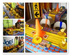 Construction Worker Birthday Party | Paper Chick