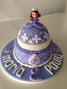 Princess Sofia The First #Cake Idea