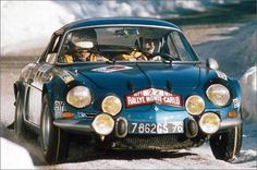 RENAULT ALPINE A110 RALLY