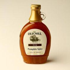 Pumpkin Spice Syrup   @giftryapp