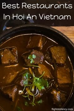Wondering where to eat in Hoi An? These amazing restaurants in Hoi An Vietnam will give you plenty of food for thought. Vietnam Travel Guide, Asia Travel, Japan Travel, Travel Abroad, Places To Eat, Cool Places To Visit, Hoi An, Brunei, International Recipes