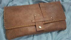 Wildstar natural tan large Clutch bag £69.99