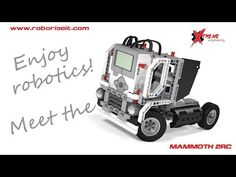 Meet the Mammoth EV3 robot! - YouTube