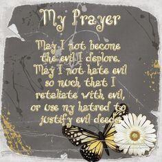 prayer for peace | My Peace Prayer