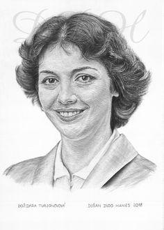 Božidara Turzonovová, portrét Dušan Dudo Hanes