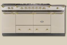 Cluny 1800 Ivory Stove - The most beautiful stove I've ever seen.....starting at a mere $13,500