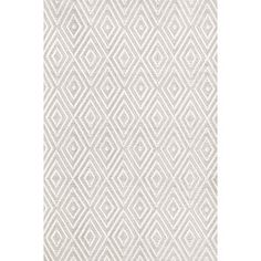 Edward Indoor/Outdoor Rug in Platinum & White