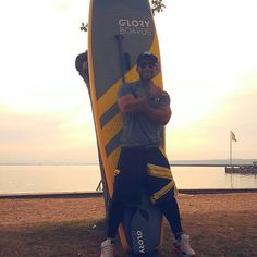 """We are glad to welcome @setyour_mark_now """"Mark Greiner"""" in our Gloryboards -Team!  Favorite Spot: Neusiedlersee, Podersdorf Board: Race 12'6'' Paddel: Carbon Paddel PD20  If you want to test our boards in vienna or lake neusiedlersee get in touch with Mark and he will show you how it works!  Ride Hard Gloryboards  #gloryboards #teamrider #paddel #standuppaddel #neusiedlersee #wien #power"""