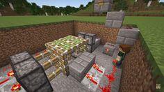 Minecraft Banners, Minecraft Plans, Minecraft Blueprints, How To Play Minecraft, Redstone Creations, Minecraft Creations, Minecraft Designs, Minecraft Architecture, Minecraft Buildings