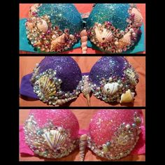 * tutus & light up tutus available, ask me * glitter bra does have fall out. *can add pearl strings/ chains hanging front for $7 ( msg me before: